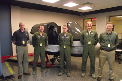 Photo - The team of test pilot judges for 2013